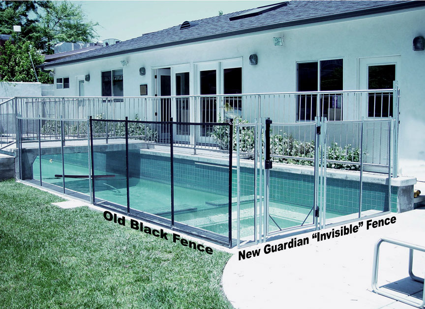 invisible pool fence features and benefits