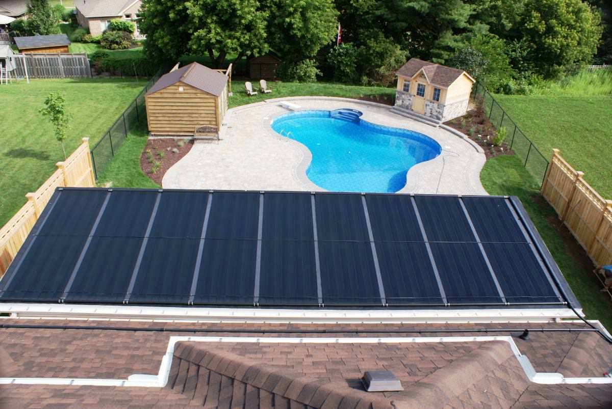 What is the best above ground pool heater for Solar heaters for swimming pools