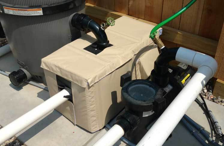 Soundproof Outdoor Pool Pump